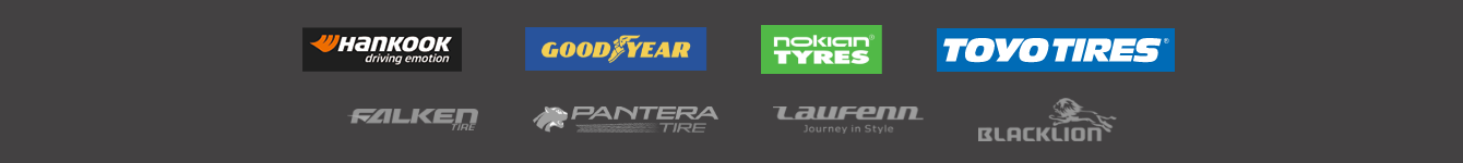 Supported tire brands
