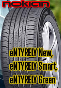 The new eNTYRE from Nokian. Available exclusively at your local Tire Factory in